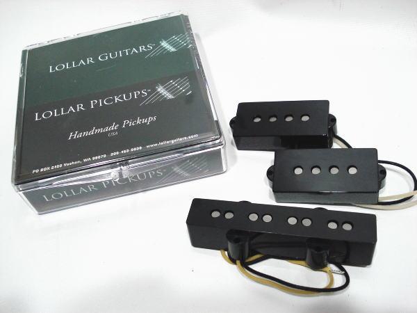 Lollar Pickups/Bass Pickups P&J SET【ローラーピックアップ】