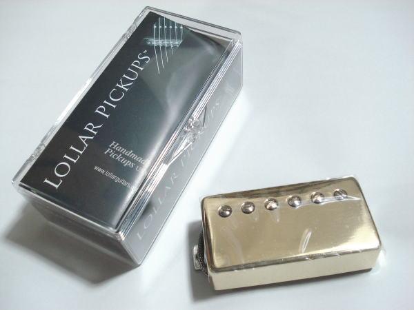 Lollar Pickups/Guitar PU Imperial HB 1-cond Neck/GO【ローラーピックアップ】