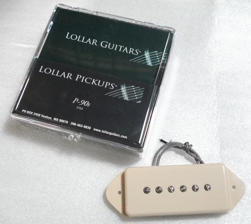 Lollar Pickups/Guitar PU P-90 Dog Ear 50's Wind Bridge/Cream【ローラーピックアップ】