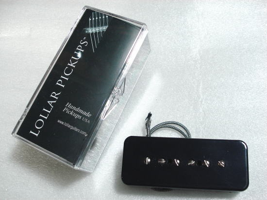 Lollar Pickups/Guitar PU P-90 Soap Bar 50's Wind Bridge/BK【ローラーピックアップ】