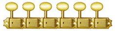 格安即決 KLUSON 6in/ペグ 6in line/MB/Gold【クルーソン KLUSON/ペグ】, 質と販売 音羽屋:98541729 --- bibliahebraica.com.br