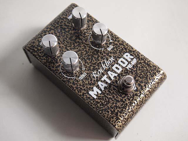 Rockbox Electronics/MATADOR Preamp プリアンプ オーバードライブ【ロックボックスエレクトロニクス】
