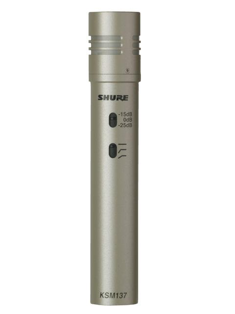 SHURE/カーディオイド型楽器用マイクロフォン KSM137/SL【シュアー】