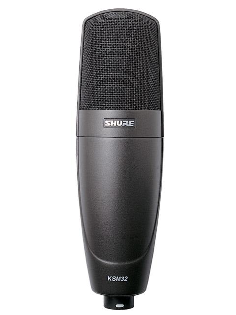 SHURE/シングルダイアフラムマイクロフォン KSM32/CG【シュアー】
