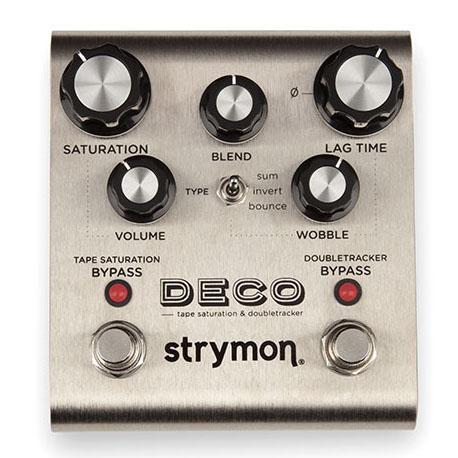 strymon/DECO(デコ/テープサチュレーション)テープエコーを再現【ストライモン】