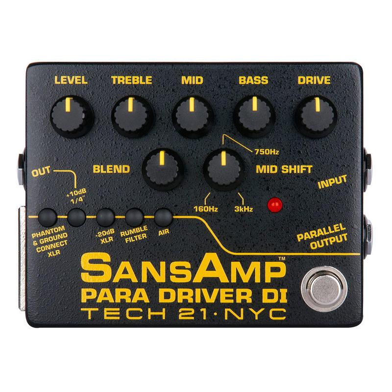 TECH21/SansAmp PARA DRIVER DI V2 サンズアンプ ドライバー プリアンプ 【テック21/各種楽器用DIボックス】ダイレクトボックス