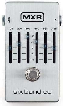 MXR/M109S SIX BAND EQ 6バンドグラフィックイコライザー