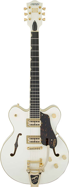 GRETSCH/G6609TG Players Edition Broadkaster® Center Block Double-Cut Vintage White【グレッチ】