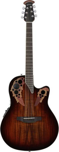 OVATION/Celebrity Elite Plus Super Shallow Body CE48P Koa Burst (KOAB)【オベーション】