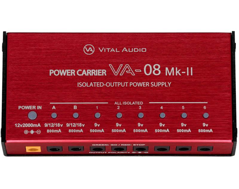 VITAL AUDIO/POWER CARRIER VA-08 Mk-II パワーサプライ【バイタルオーディオ】