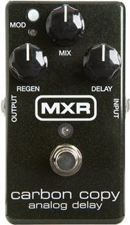 MXR/M169 Carbon Copy Analog Delay【M-169 アナログディレイ】