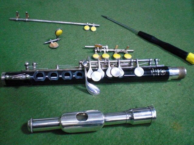 YAMAHA製品限定/ピッコロ全タンポ交換(管楽器修理)【離島不可】【ヤマハ】