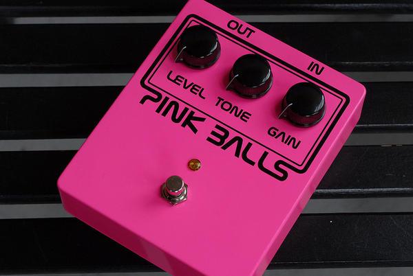 Balls Effects Pink Balls【ボールエフェクター】ディストーション【MSD】