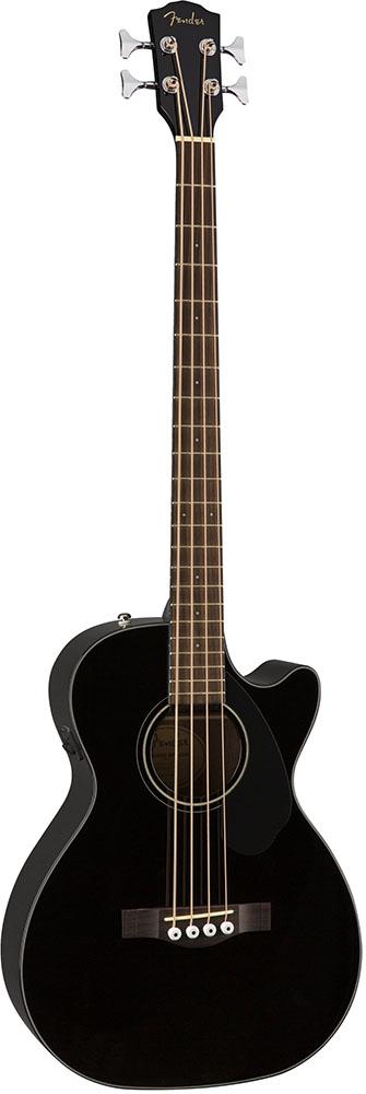 3 980円 税込 以上は送料無料です 一部地域を除く Fender CB-60SCE 全店販売中 Black Classic フェンダーアコースティックベース Series 18%OFF Design