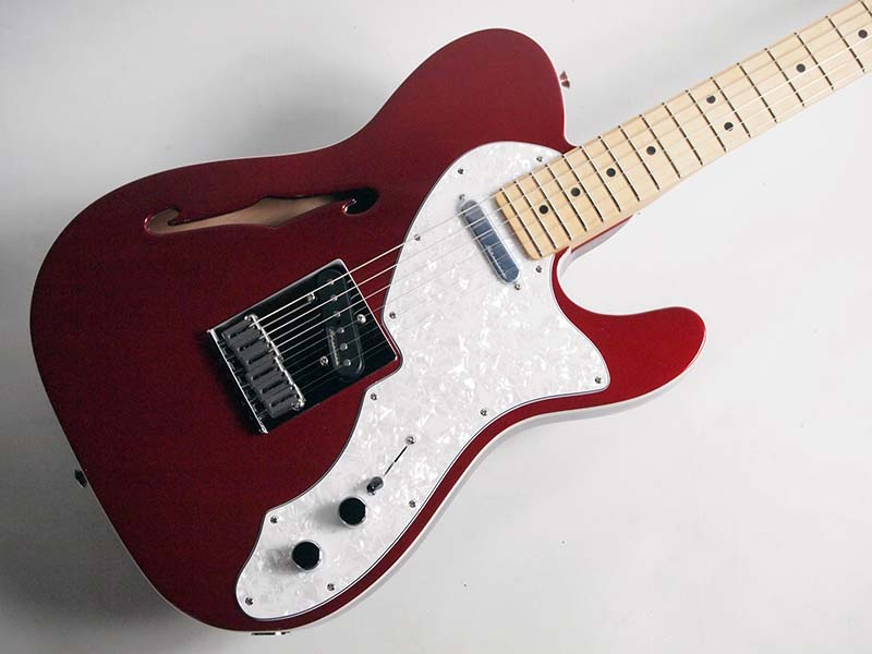 Fender Deluxe Tele Thinline Candy Apple Red【フェンダー】
