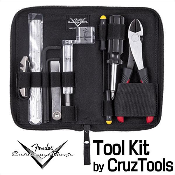 Fender Custom Shop/Tool Kit by CruzTools ツールキット メンテナンス工具セット/ スクリュードライバー、テレスコピックミラー、定規、ニッパー、カポ、すきまゲージ、ストリングワインダー【フェンダー】