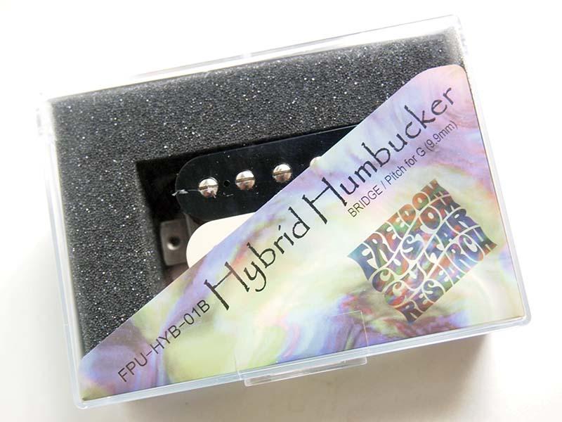 Freedom C.G.R./Hybrid Humbucker ZEBRA ギター用ピックアップ【フリーダム】【FPU-HYB-01N.FPU-HYB-01B】