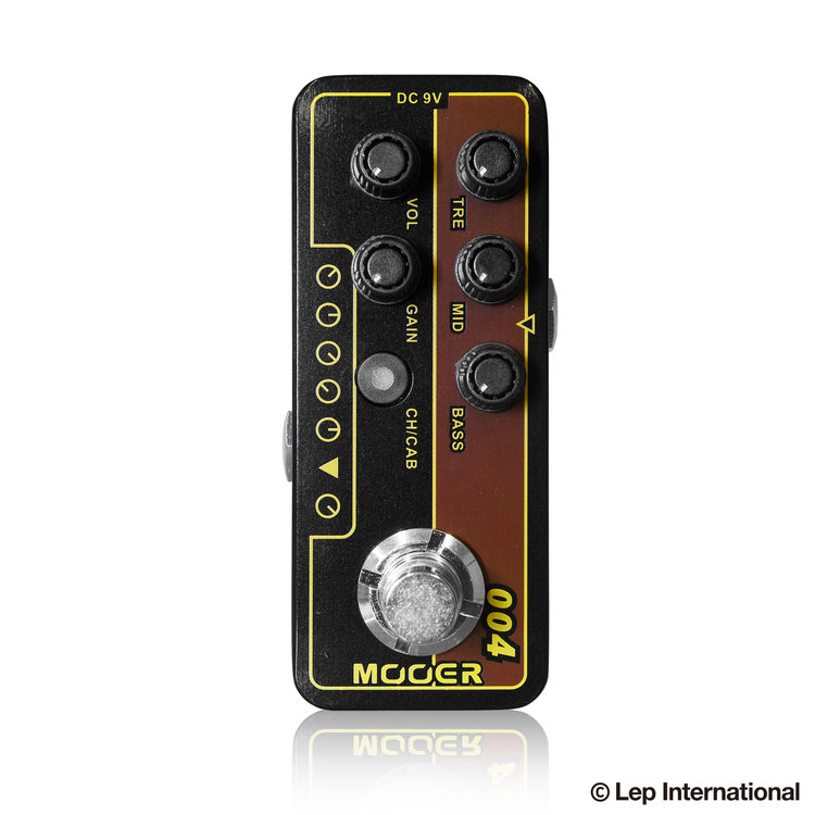 Mooer Micro Preamp004 ムーアー / マイクロプリアンプ004【正規輸入品】