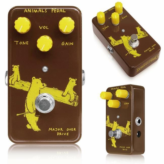 Animals Pedal/Major Overdrive メジャーオーバードライブ【アニマルズペダル】【正規輸入品】【送料無料】