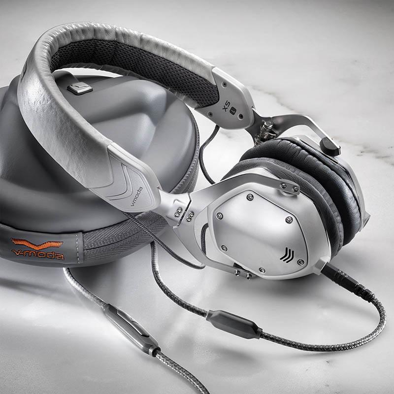 V-MODA XS-U-WSILVER (ホワイト・シルバー) ヘッドホン【国内正規品】【ブイモーダ】