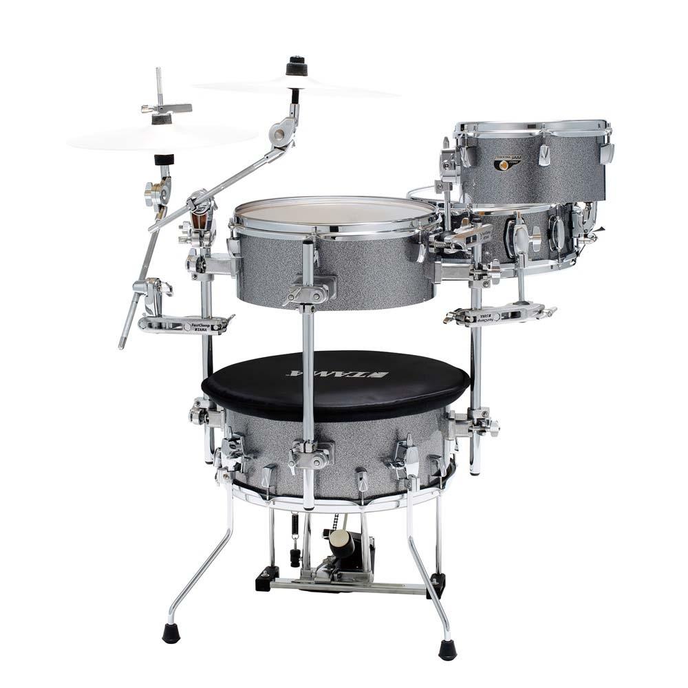TAMA Cocktail-JAM Drum set CJB46C-GXS カクテル・ジャム ドラムセット+クランプセットニドラム トラベルドラム【アウトドア】【タマ】