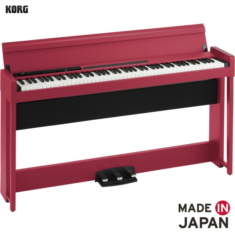 KORG/デジタルピアノ C1 AIR-RD レッド 【代引き不可】【離島発送不可】 【コルグ】