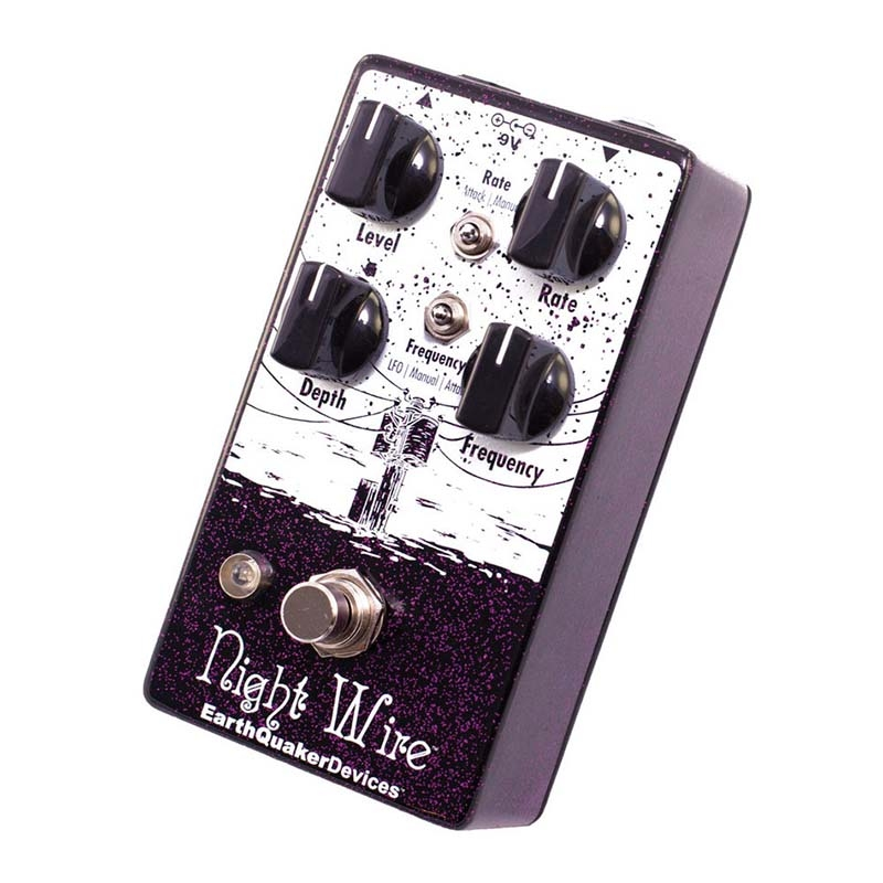 Earthquaker Devices Night Wire Wide Range Harmonic Tremelo ハーモニックトレモロ【アースクエイカーデバイセス】