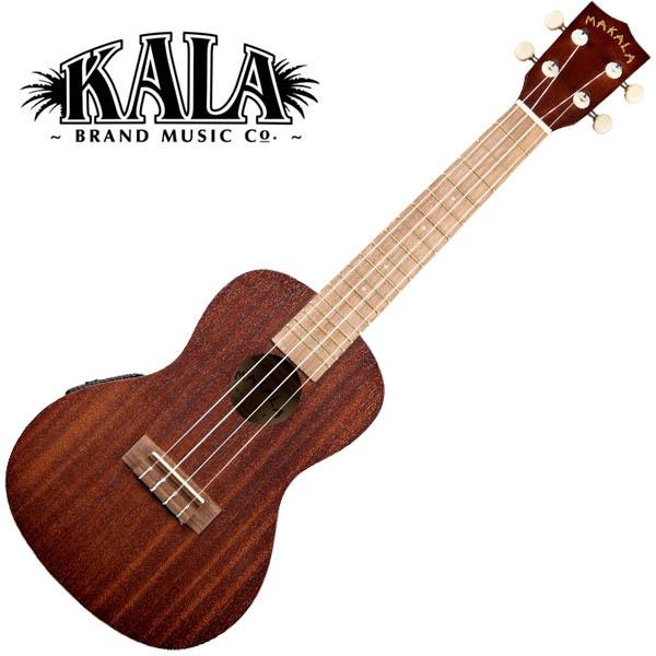 MAKALA by KALA MK-CE Concert Ukulele w/bag コンサートウクレレ ピックアップ搭載モデル【マカラ・カラ】