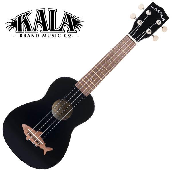 MAKALA by KALA MK-SS/BLK Shark Soprano Ukulele w/bag ソプラノウクレレ【マカラ・カラ】
