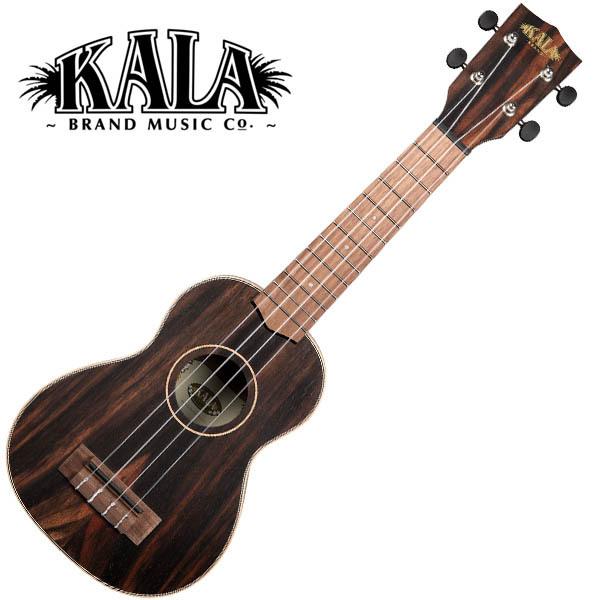 KALA KA-EBY-S Ebony Soprano Ukulele w/bag ソプラノウクレレ【カラ】