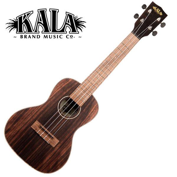 KALA KA-EBY-C Ebony Concert Ukulele w/bag コンサートウクレレ【カラ】