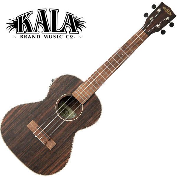 KALA KA-EBY-TE Ebony Tenor Ukulele w/bag テナーウクレレ ピックアップ搭載モデル 【カラ】