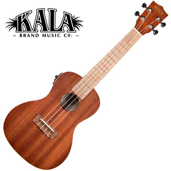 KALA KA-CE Satin Mahogany Concert Ukulele w/bag コンサートウクレレピックアップ搭載モデル【カラ】