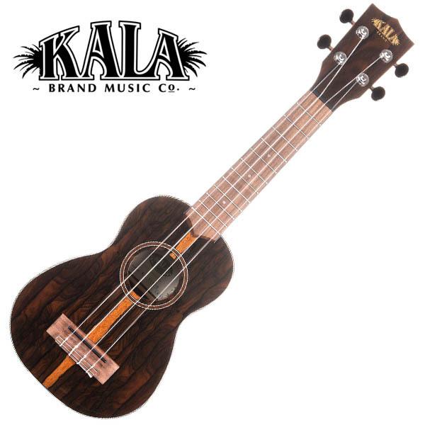 KALA KA-ZCT-S Ziricote Gloss Soprano Ukulele w/bag ソプラノウクレレ【カラ】