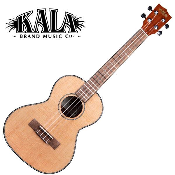 KALA KA-STG Solid Spruce Top Gloss Tenor Ukulele w/bag テナーウクレレ【カラ】