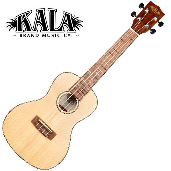 KALA KA-SSTU-C Solid Spruce Travel Concert Ukulele w/bag コンサートウクレレ【カラ】