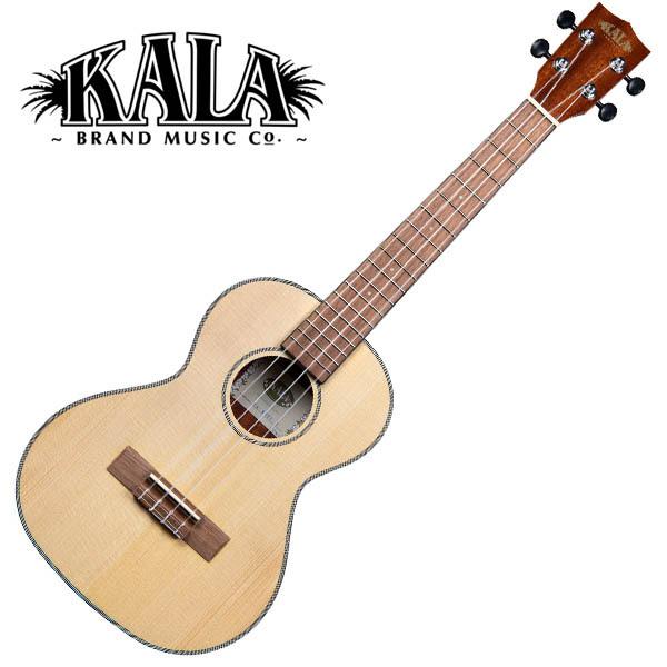 KALA KA-SSTU-T Solid Spruce Travel Tenor Ukulele w/bag テナーウクレレ【カラ】
