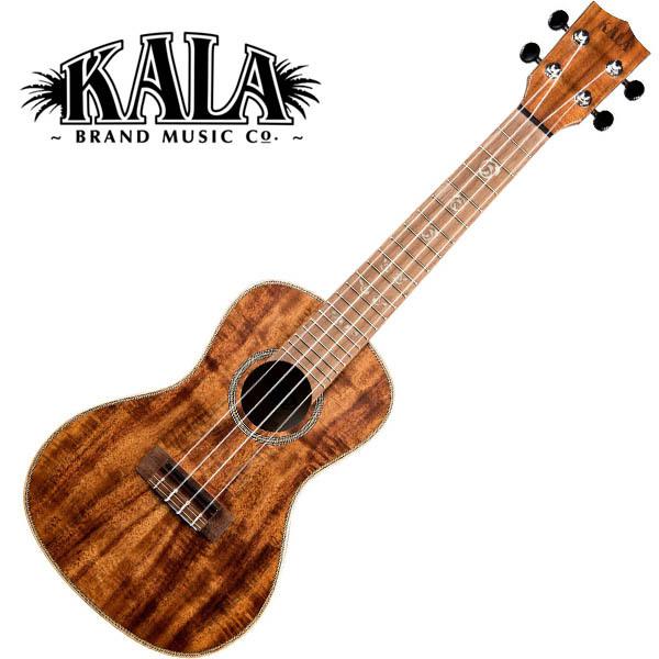 KALA KA-SA-C All Solid Acacia Concert Ukulele w/bag コンサートウクレレ【カラ】