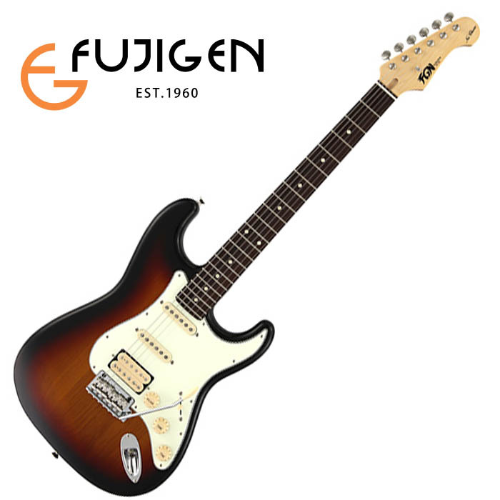 (P)FUJIGEN/エレキ Neo Classic NST11RAL-3TS (3Tone Sunburst)【フジゲン】