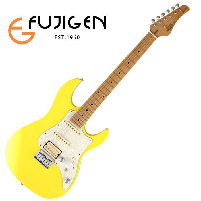 (P)FUJIGEN/エレキ Boundary BOS-M-OCY (Old Canary Yellow)【フジゲン】