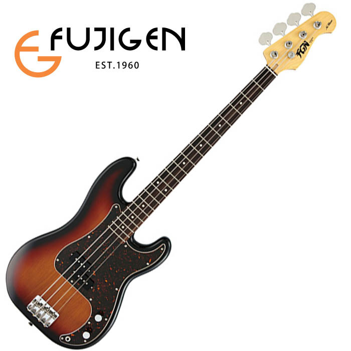 (P)FUJIGEN/ベース Neo Classic NPB10RAL-3TS (3Tone Sunburst)【フジゲン】