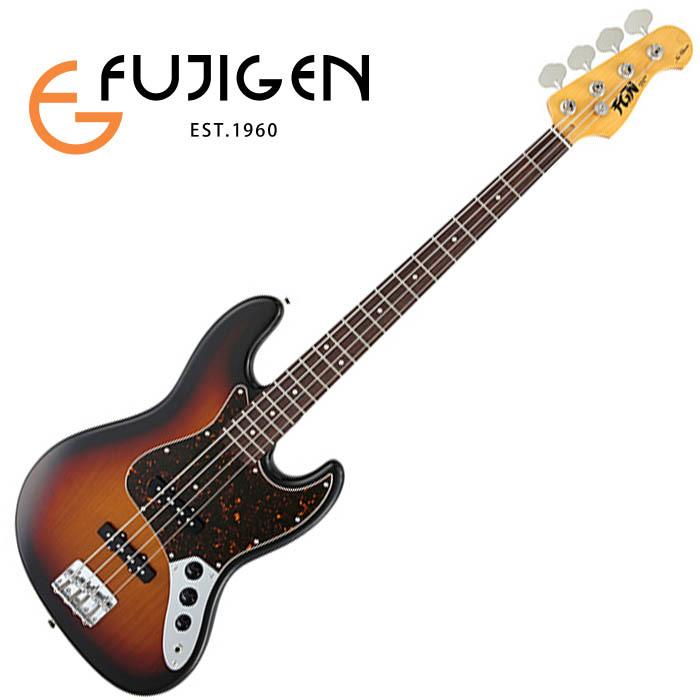 (P)FUJIGEN/ベース Neo Classic NJB10RAL-3TS (3Tone Sunburst)【フジゲン】
