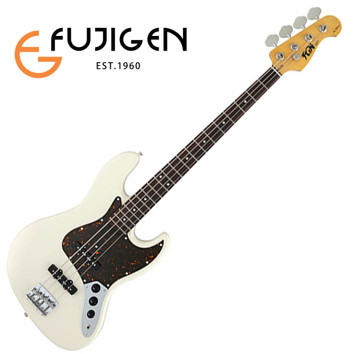 (P)FUJIGEN/ベース Neo Classic NJB10RAL-VWH (Vintage White)【フジゲン】