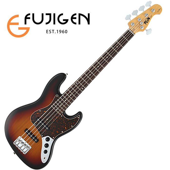 (P)FUJIGEN/5弦ベース Neo Classic NJB10RALV-3TS (3Tone Sunburst)【フジゲン】