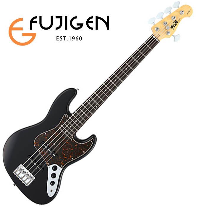 (P)FUJIGEN/5弦ベース Neo Classic NJB10RALV-BK (Black)【フジゲン】