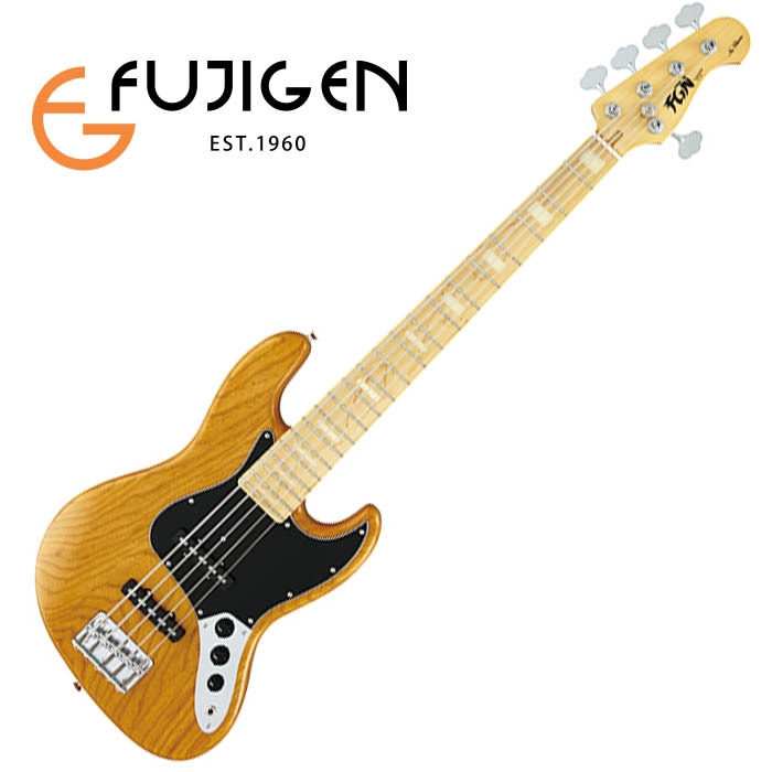 (P)FUJIGEN/5弦ベース Neo Classic NJB10MBAHV-VNT (Vintage Natural)【フジゲン】