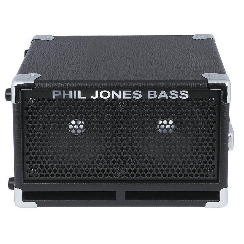 "Phil Jones Bass BC-2 Black 2x5""超小型キャビネット【フィルジョーンズ】"
