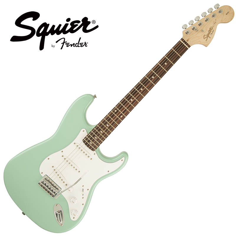 Squier by Fender/Affinity Series Stratocaster Surf Green【スクワイア フェンダー】
