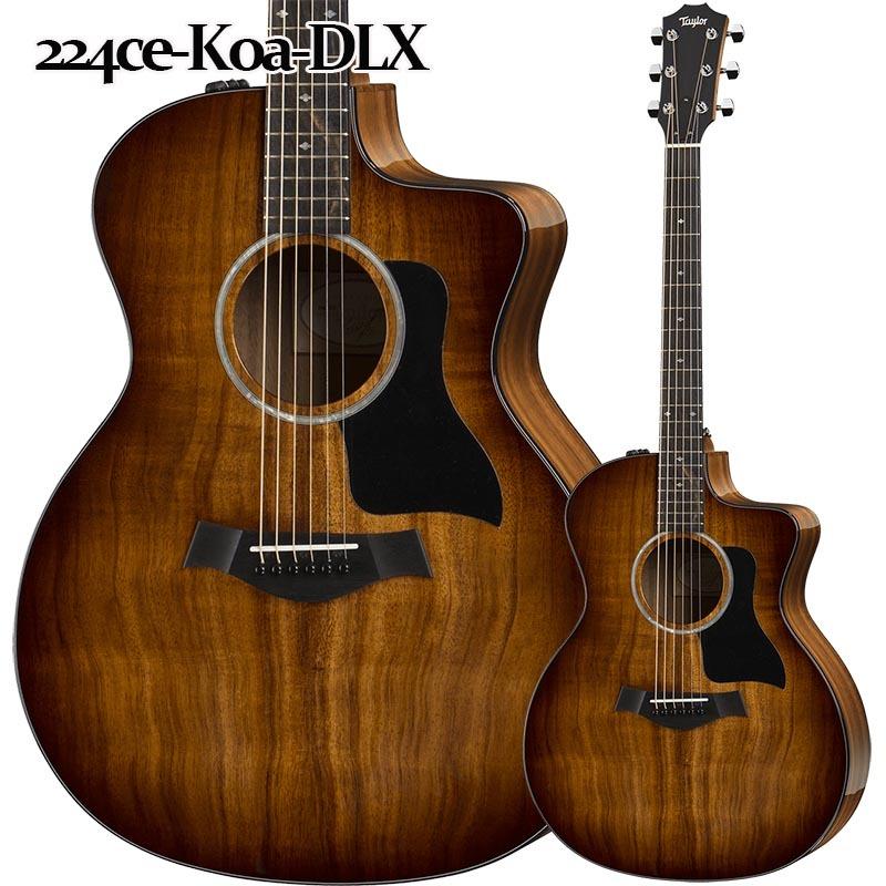 Taylor 224ce-Koa-DLX エレクトリックアコースティックギター【テイラー】