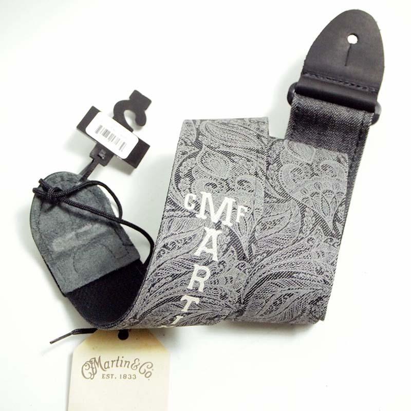 Martin Denim strap SCROLL-AND-LEAF PATTERN 18A0109【マーチンストラップ】